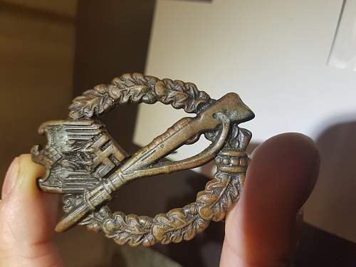 Infantrie Sturmabzeichen in bronze