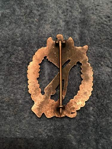 Infanterie-Sturmabzeichen Original or Reproduction?
