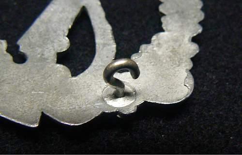 Infantrie Sturmabzeichen in Silver, Dr. Franke & Co. Ludenscheid