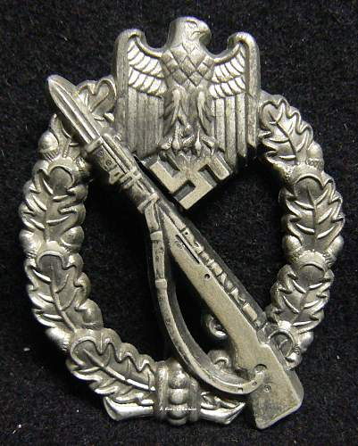 Infanterie Sturmabzeichen Deumer Daisy 1 or 2 or just another fake?