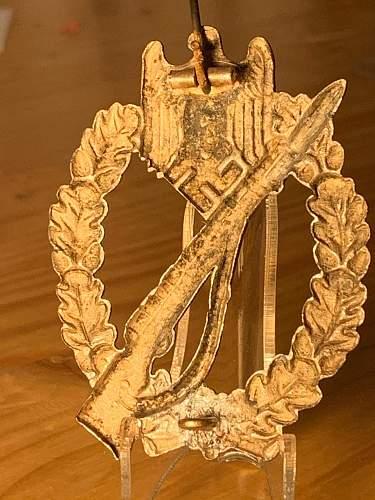 Infanterie Sturmabzeichen original?