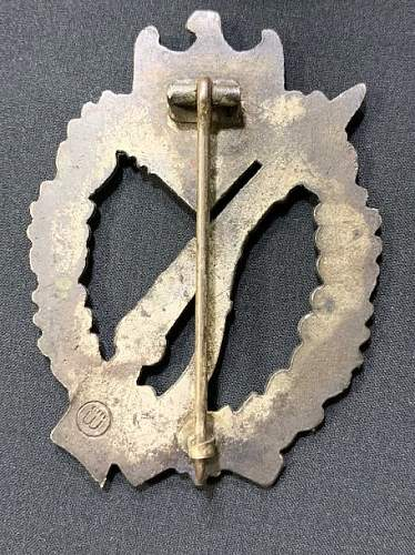 Infanterie Sturmabzeichen, real or fake?