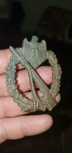 Is this a good one ? infanterie sturm abzeichen