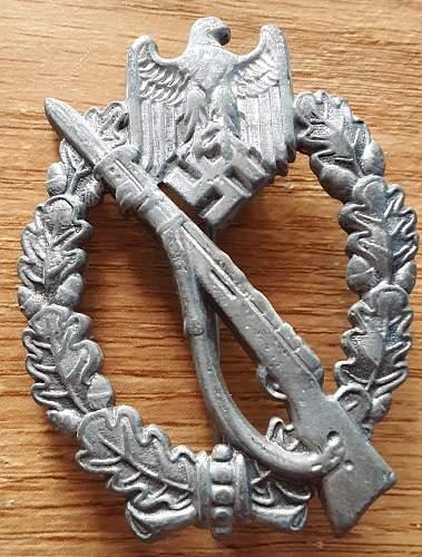 Infantrie Sturmabzeichen in Silber, Authenticity
