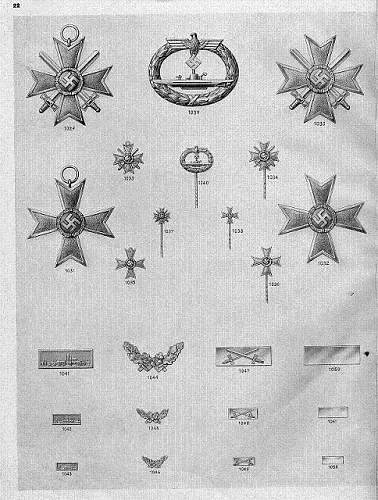 Infanterie Sturmabzeichen in Bronze, Otto Schickle unmarked tombak