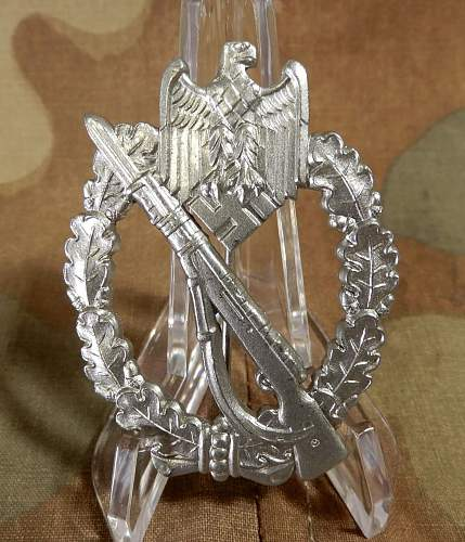 New arrival:  Infanterie Sturmabzeichen in Silber