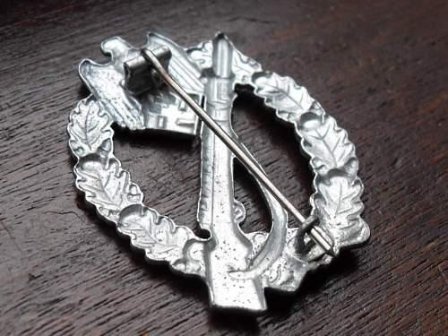 Infanterie Sturmabzeichen im silber