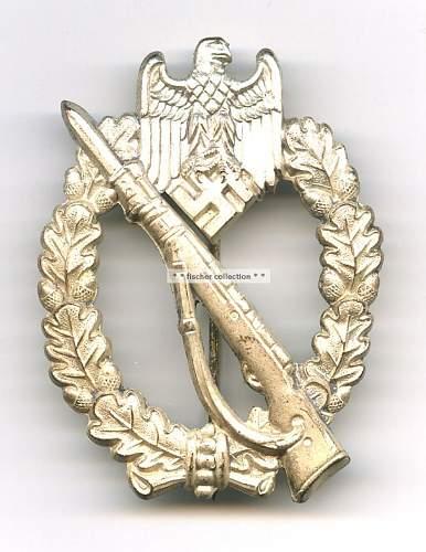 Infanterie Sturmabzeichen - W.H. -- QUESTION