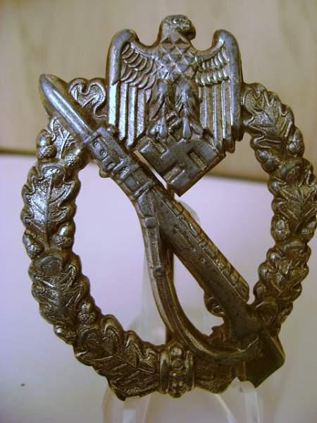 """""""h"""" Infanterie Sturmabzeichen"""