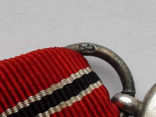 Infanterie Sturmabzeichen im silber und Gefrierfleischorden medal