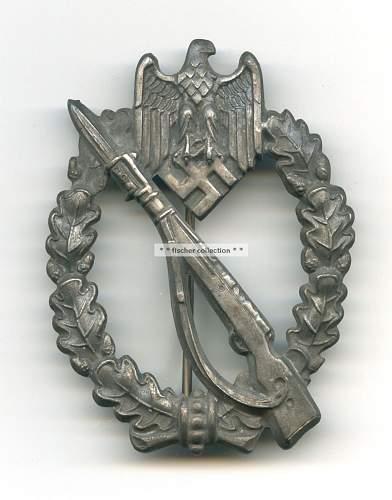 Help please - Infanterie Sturmabzeichen - Fake?