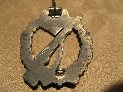 My first Infanterie Sturmabzeichen