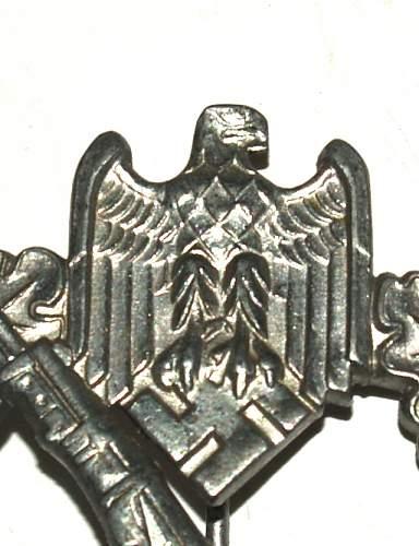 German Infanterie Sturmabzeichen...opinions please.