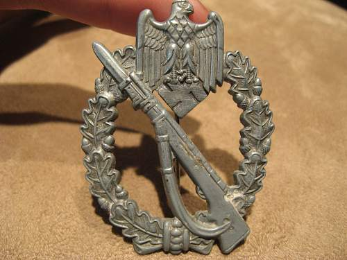 Infanterie Sturmabzeichen x3 for review