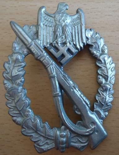 Heer Infanterie Sturmabzeichen in Silber