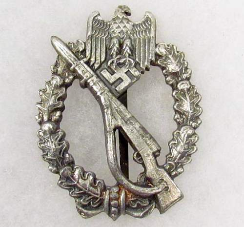Infanterie Sturmabzeichen-  Original or cool paper weight?
