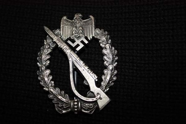 Infanterie Sturmabzeichen Bronze Fake Gallery
