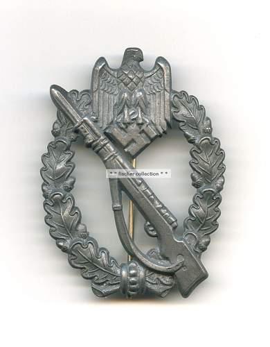 Infanterie Sturmabzeichen id needed