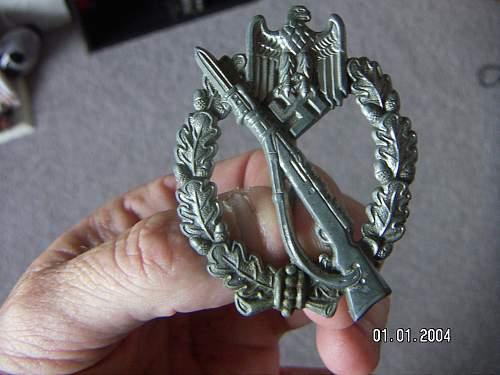 First Infanterie Sturmabzeichen in Silber