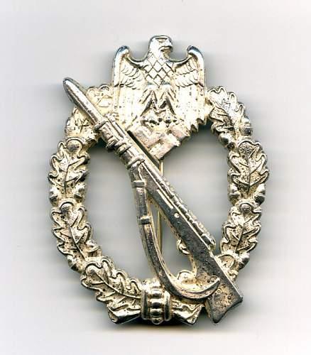 JFS Bronze Infanterie Sturmabzeichen
