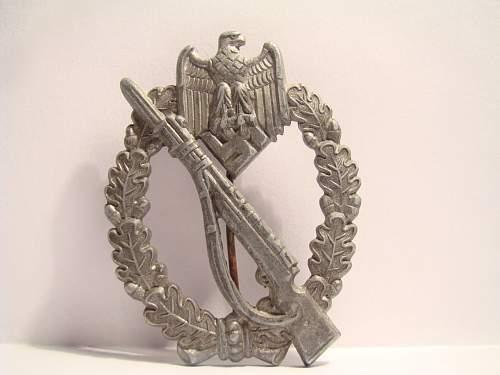 Infanterie Sturmabzeichen.
