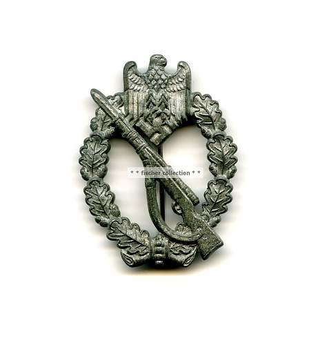 Funcke & Bruninghaus Infanterie Sturmabzeichen