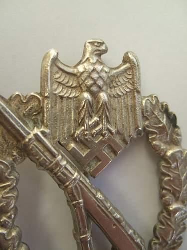 Infanterie Sturmabzeichen  Wiedmann ?
