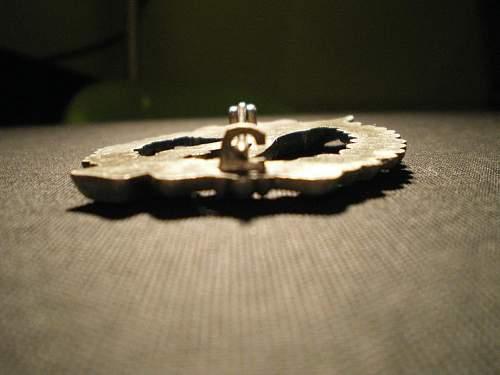 Infanterie Sturmabzeichen in bronze good or bad?