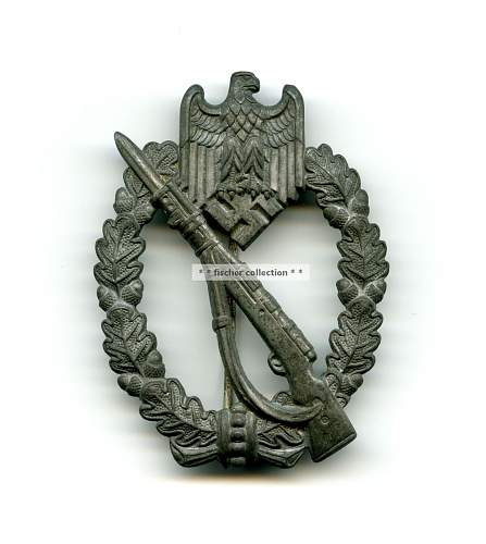 Infantrie Sturmabzeichen/Infantry Assault badge - real or fake, please?