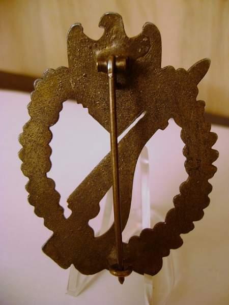 Infanterie Sturmabzeichen Bronze ORIGINAL?