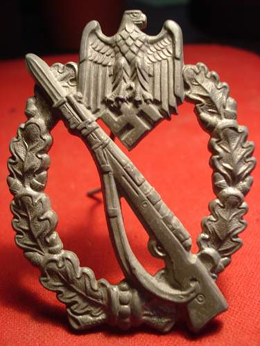 Infanteriesturmabzeichen  for review