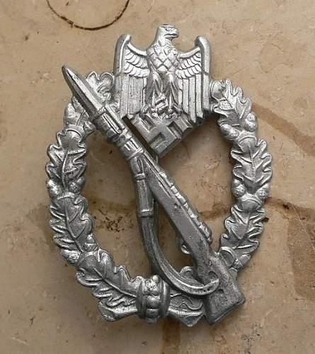 Wiedmann Infanterie sturmabzeichen
