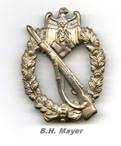Hollow FLL Infanterie sturmabzeichen
