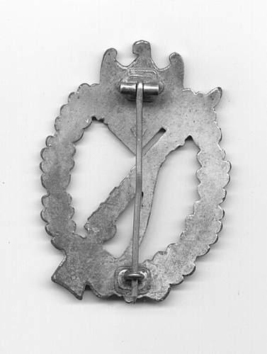 Infanterie Sturmabzeichen in Silber, 107, Carl Wild