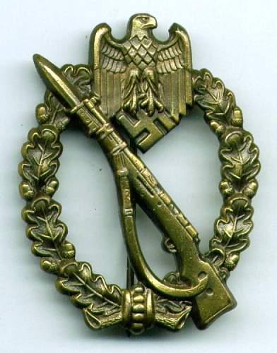 Infanterie Sturmabzeichen GWL