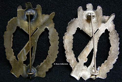 Infanterie Sturmabzeichen in Silber, Rudolph Karneth