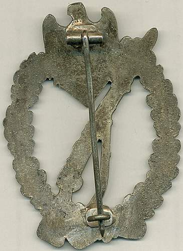 Infanterie Sturmabzeichen & replacement hinges