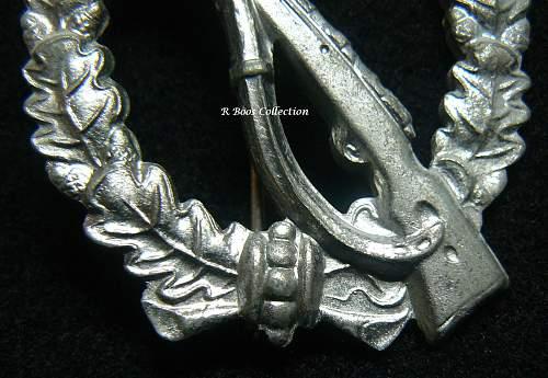 Infanterie Sturmabzeichen in Silber, E. Ferdinand Wiedmann