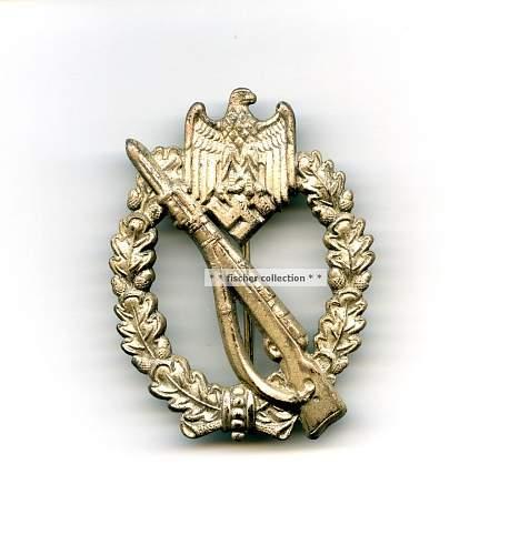 Infanterie Sturmabzeichen maker mark?