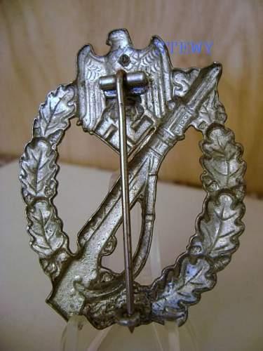 Steel SHuCo Infanterie sturmabzeichen