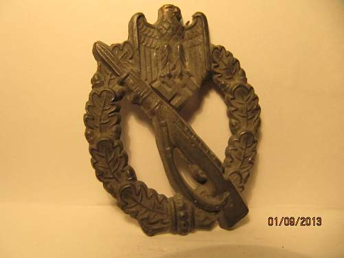 Infanterie Sturmabzeichen real or fake