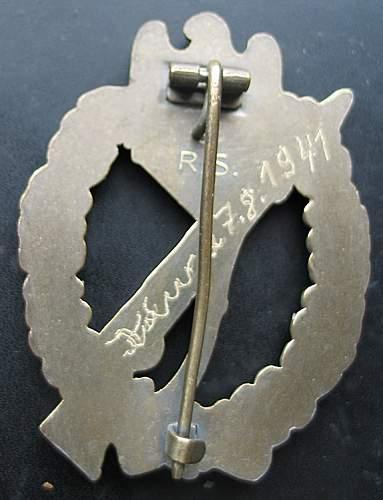 2 Infanterie Sturmabzeichen