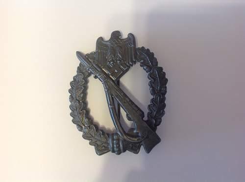 R.S.S. infantry badge value