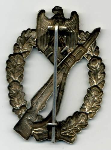 Infanterie Sturmabzeichen - Bronze