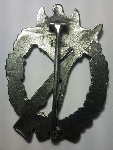 Infanterie-Sturmabzeichen Silber