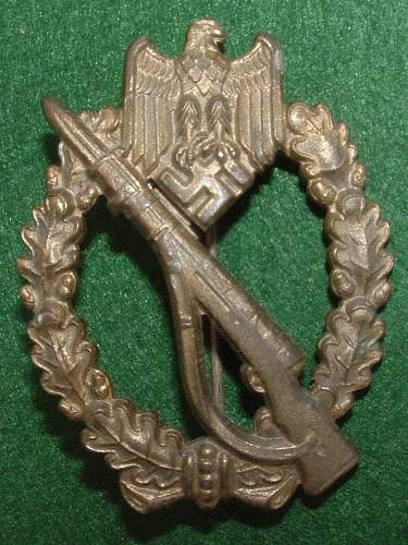 Infanterie Sturmabzeichen Opinions Needed