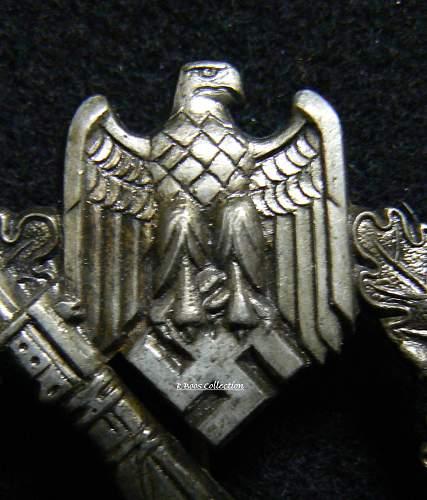 Infanterie Sturmabzeichen in Silber, ShuCo, 41