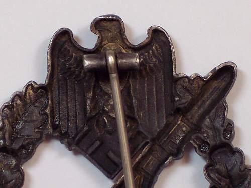 Unmarked Infanterie Sturmabzeichen in Bronze