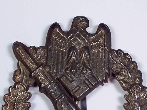 Semi Hollow Infanterie Sturmabzeichen