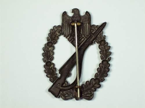 Infanterie Sturmabzeichen in Bronze